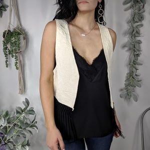 SHOW ME YOUR MUMU boho brocade fringe vest 656